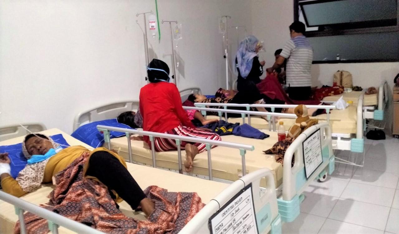 Korban Keracunan Massal di Ciamis Bertambah Menjadi 41 Orang