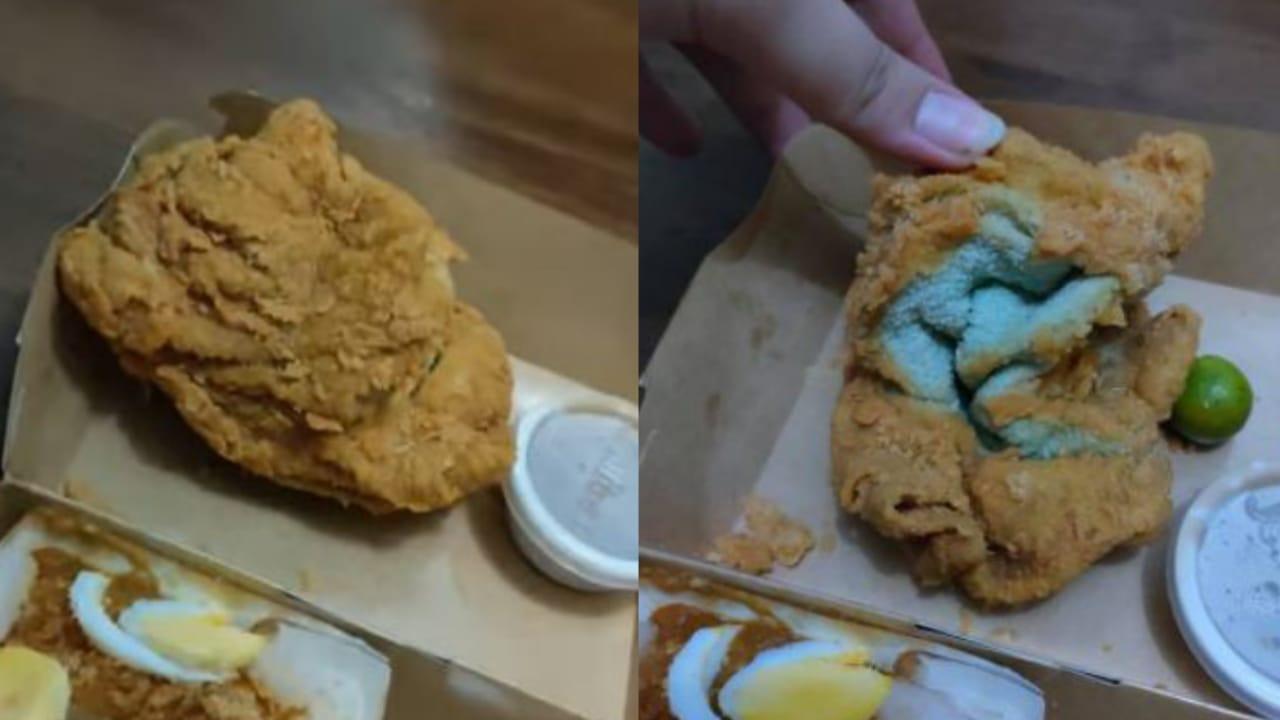 Krispi di Luar Alot di Dalam, Viral Pesan Ayam Goreng Dapatnya Handuk Goreng Tepung