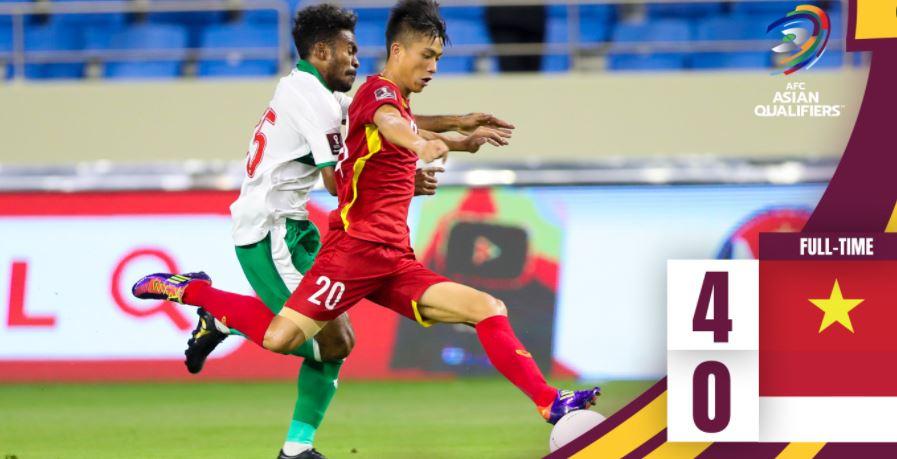 Timnas Babak Belur di Hajar Vietnam, Telan Kekalahan dengan Skor 4-0
