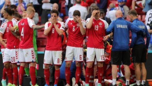 Tangis Timnas Denmark Pecah, Erikson Jatuh Tersungkur, Pertandingan Denmark vs FInlandia Terhenti