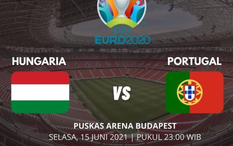 Link Live Streaming EURO 2020 Portugal vs Hungaria, Saksikan Malam Ini
