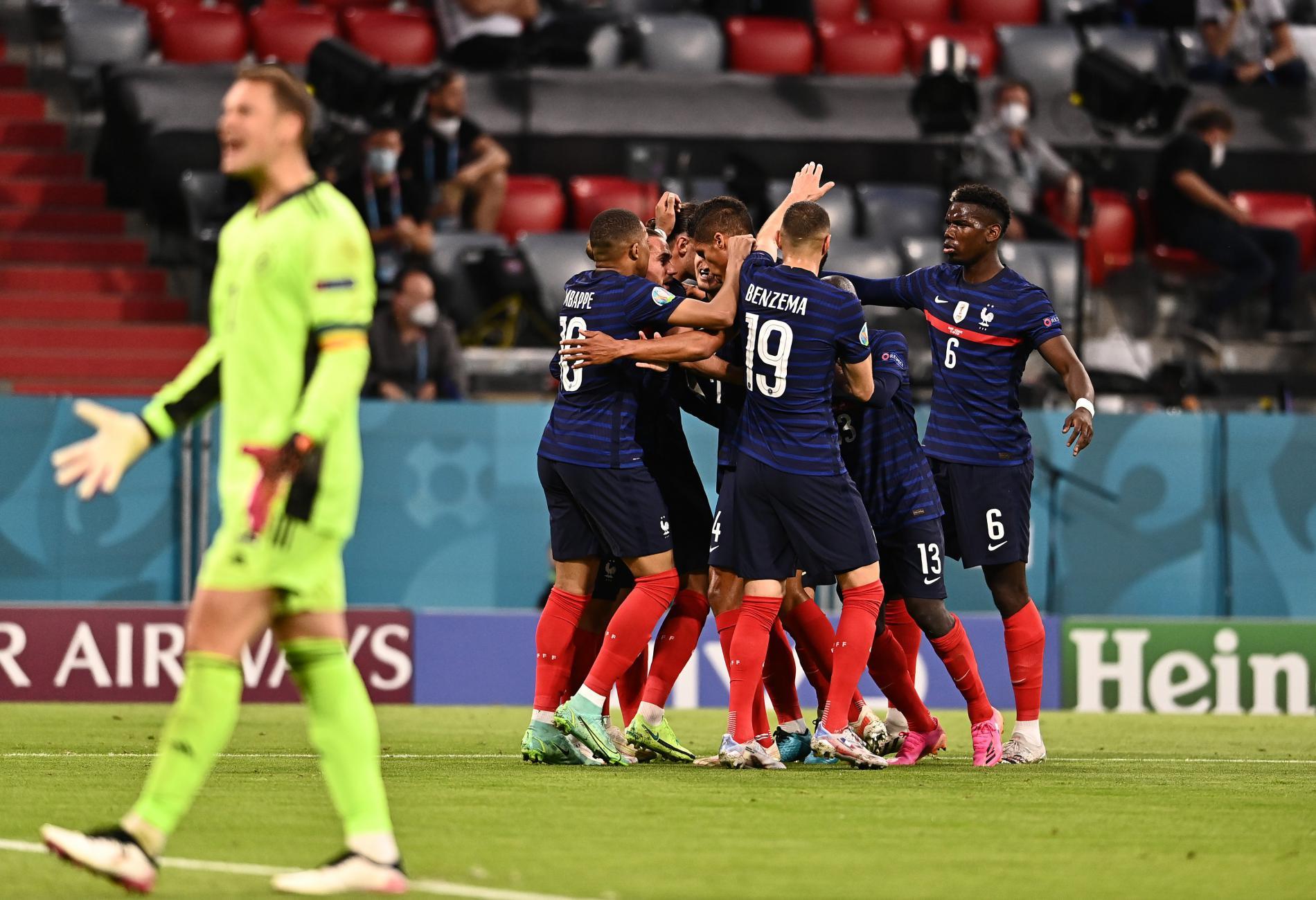 Bertanding Sengit, Prancis Menang Tipis dari Jerman 1-0 dengan Gol Bunuh Diri Hummels