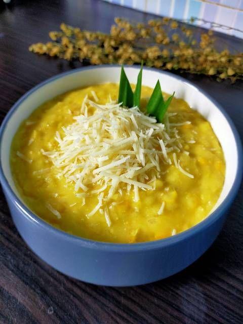 Resep Masakan, Cara Membuat Bubur Jagung Keju, Sarapan Sehat Menghangatkan di Musim Dingin