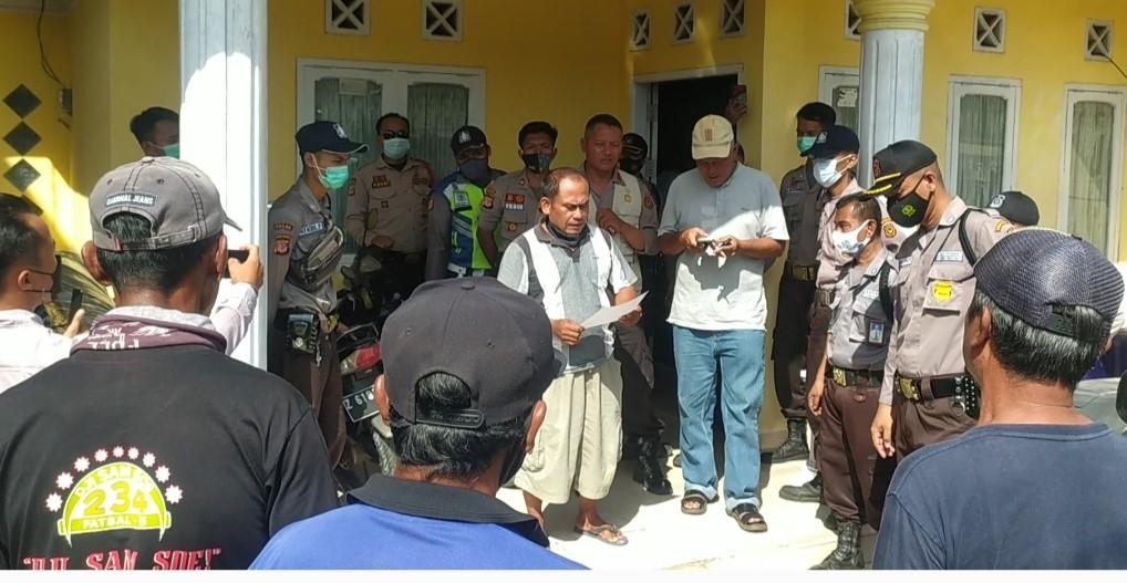Pelaksana Lapangan Laporkan 3 Orang Warga, Kantor Direksi Kit PT IJT di Pangadaran Digeruduki Ratusan Massa
