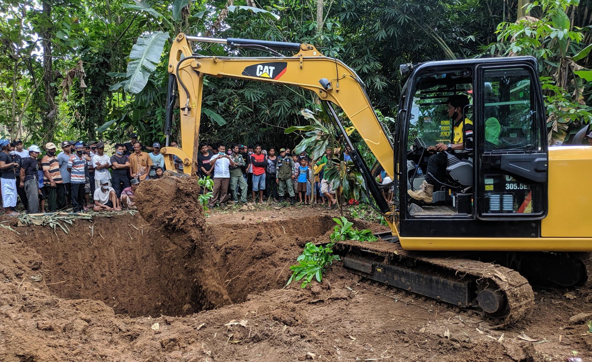 Pemerintah Desa Wariginsari Kota Banjar Gali Kuburan yang Diyakini Makam Keturunan Raden Fatah, Begini Alasannya