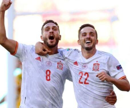 Spanyol Maju ke Babak 16 Besar Euro 2020, Seusai Pesta Gol 5-0 Lawan Slovakia