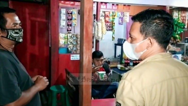 PPKM Darurat Mulai Diterapkan, Satgas Covid-19 Kecamatan Kalipucang Gencar Lakukan Sosialisasi