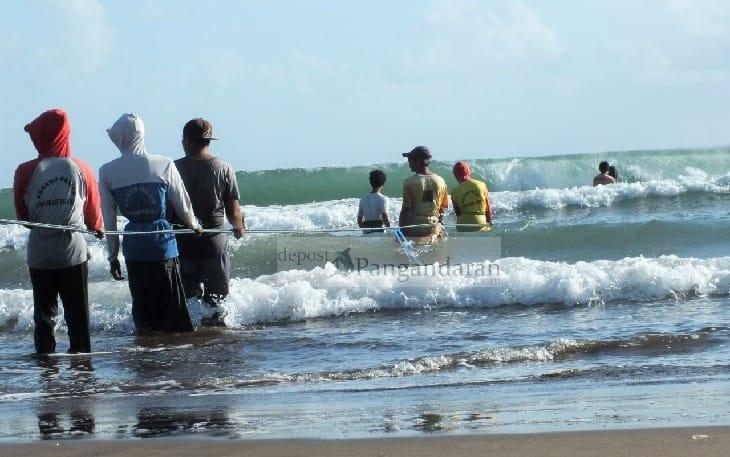 Inilah Curhatan Nelayan Jaring Arad di Pangandaran Ketika Hasil Tangkapan Minim