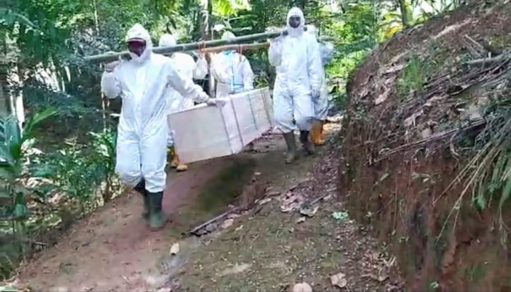 BPBD Pangandaran : Pemakaman Jenazah yang Terpapar Mulai Menurun