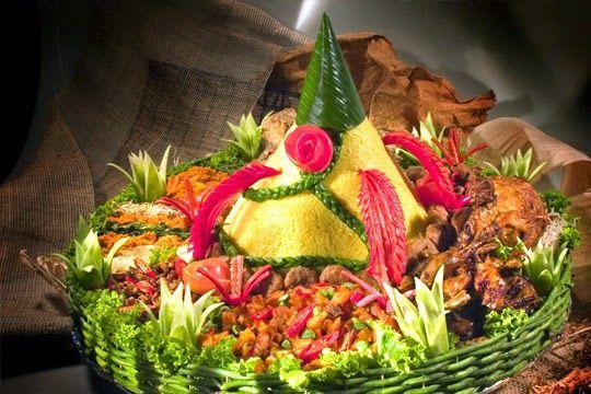 Resep Makanan, Cara Membuat Nasi Tumpeng Cantik Rupawan untuk Hari Kemerdekaan