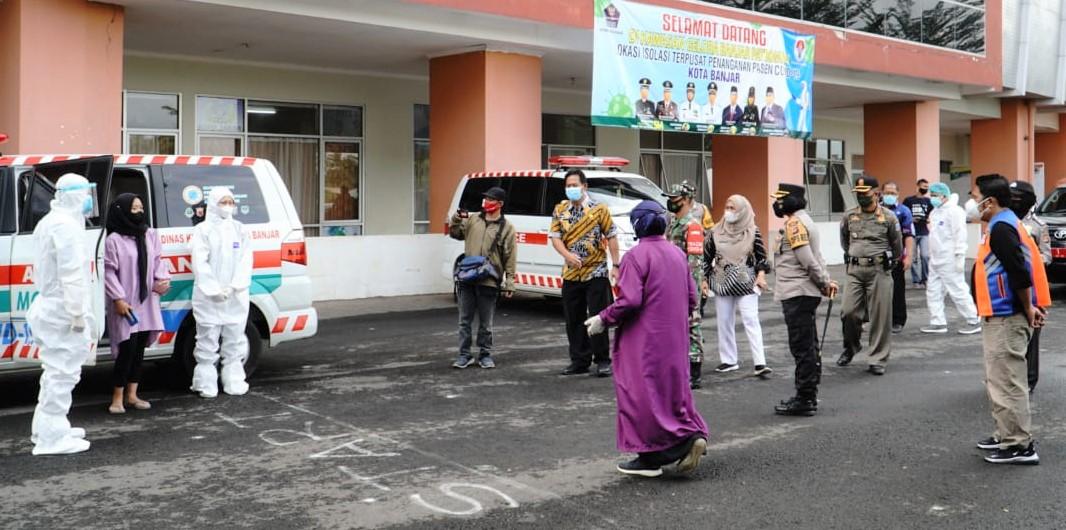 Di Banjar, Warga yang Terkonfirmasi Positif Jalani Isolasi Terpusat di GBP