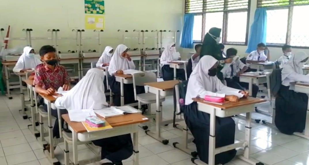 Turun Level, Kota Banjar Gelar Pembelajaran Tatap Muka Tingkat SD dan SMP